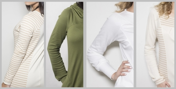 Unmatched comfort and Eco-fashion thinking...blouses by AngeliCotton
