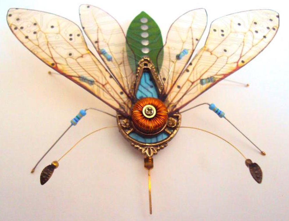 Delicate Sculpture Art by Julie Alice Chappell