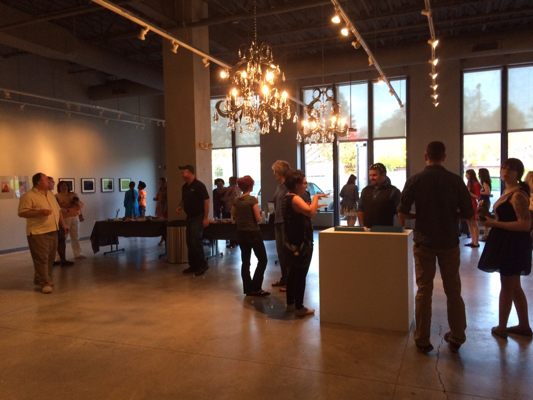 Photo during the Consider Exhibit May 1, 2015 at the Indiana Design Center